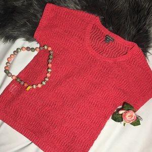 NWOT Eddie Bauer Knit Short Sleeve Top